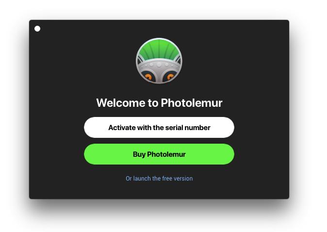 activating photolemur license